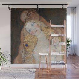 Gustav Klimt - Adam und Eva Wall Mural