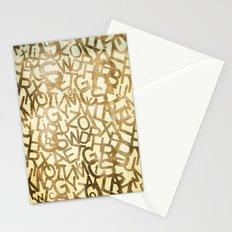 Din pattern Stationery Cards