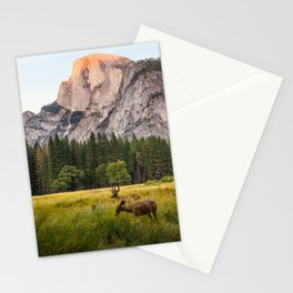 Deer At Half Dome Stationery Cards