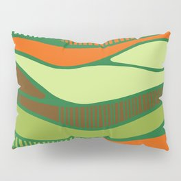 Bird's view- vue d'oiseau Pillow Sham