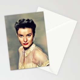 Jean Peters, Vintage Actress Stationery Cards