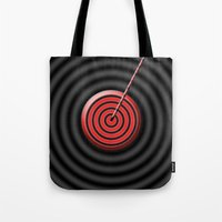 game Tote Bags featuring game by sladja