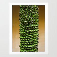 Future bananas Art Print