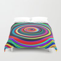 circus Duvet Covers featuring CIRCUS by THE USUAL DESIGNERS