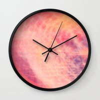 bubblegum Wall Clocks featuring Bubblegum  by SYoung.photography