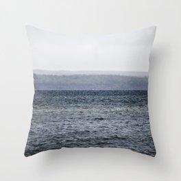 Lake Effect Throw Pillow