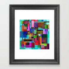 Cubist Candy Framed Art Print