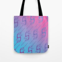 unicorns Tote Bags featuring Unicorns by very giorgious