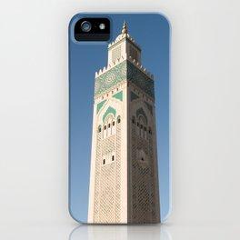 Hassan II Mosque - Casablanca iPhone Case