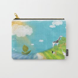 A Sunny Imagination Carry-All Pouch