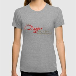 Is This A Dagger - Shakespeare Quote From Macbeth T-shirt