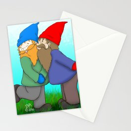 Gnomes In Love Stationery Cards