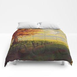 Summer's Sunset Comforters