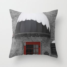 Red Reception  Throw Pillow