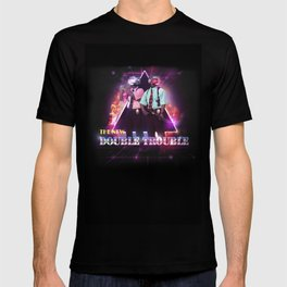 Love 80s Title Art T-shirt