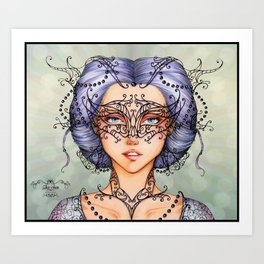 Queen of Mystery Art Print