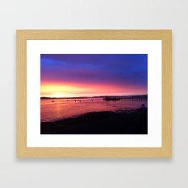 West of Scotland Framed Art Print
