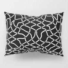 Net of black and white fisherman Pillow Sham