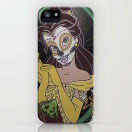 """Belle """"A Death as Old as Time"""" iPhone Case"""