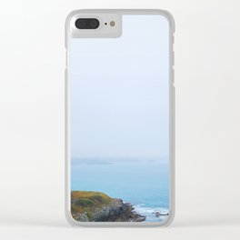 14. Wild Wild Coast, Bretagne, France Clear iPhone Case