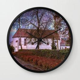 Baden-Wurttemberg : St.Leonhards chapel - Laupheim Wall Clock