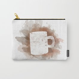 Coffee Stain Carry-All Pouch