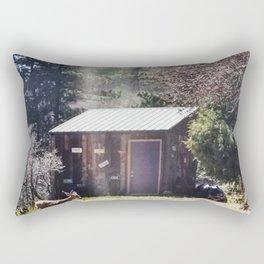 A Little Mountain Paradise Rectangular Pillow