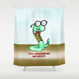 Soil Conservation Manager Shower Curtain