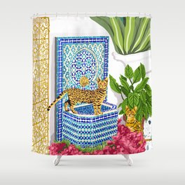 Royal Cats Shower Curtain