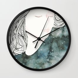 Dreaming Muse Wall Clock