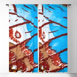 Watercolor Effect 2 Blackout Curtain