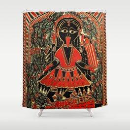 Hindu Kali 16 Shower Curtain