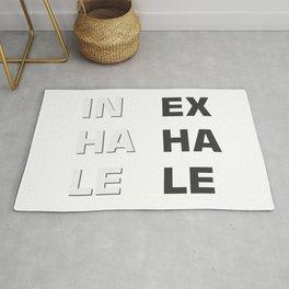 Inhale- Exhale (Inex- Haha- Lele) Rug