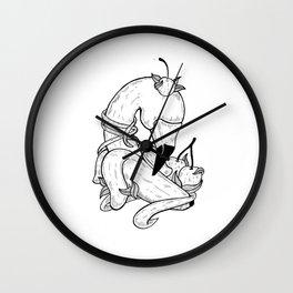 Discreet Wall Clock