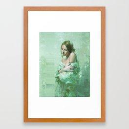 WhiteGirl Framed Art Print