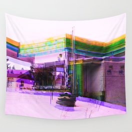 The Building Wall Tapestry