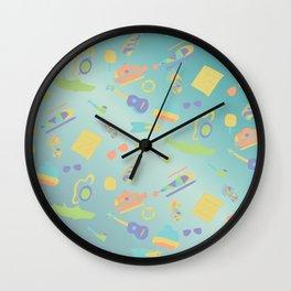 An Aquatic Life Wall Clock