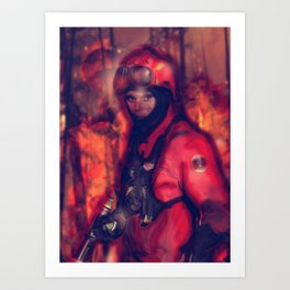 Unsung Heroes Art Print