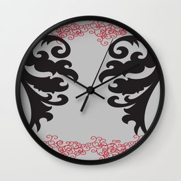 Angel Wings to Fly Wall Clock