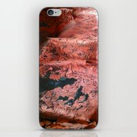 geology iPhone & iPod Skins featuring Copper Sheet by Whimsy Notions Designs