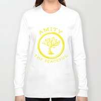 divergent Long Sleeve T-shirts featuring Divergent - Amity The Peaceful by Lunil