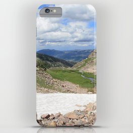 August Snow iPhone Case