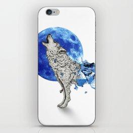 Diamond Wolf iPhone Skin