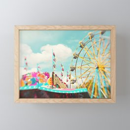 summer carnival fun Framed Mini Art Print