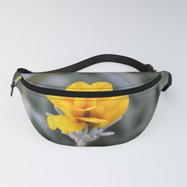 Yellow Flower Close-Up Photo Fanny Pack