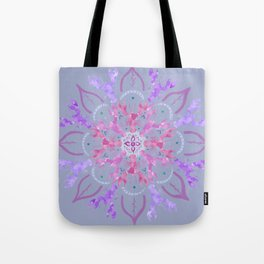 Lobster Flower Pink Tote Bag