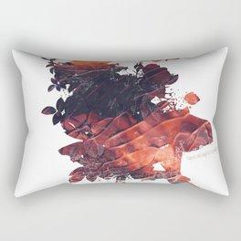 Mask Flow Fire Rectangular Pillow