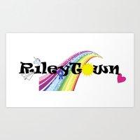 Rileytown Art Print