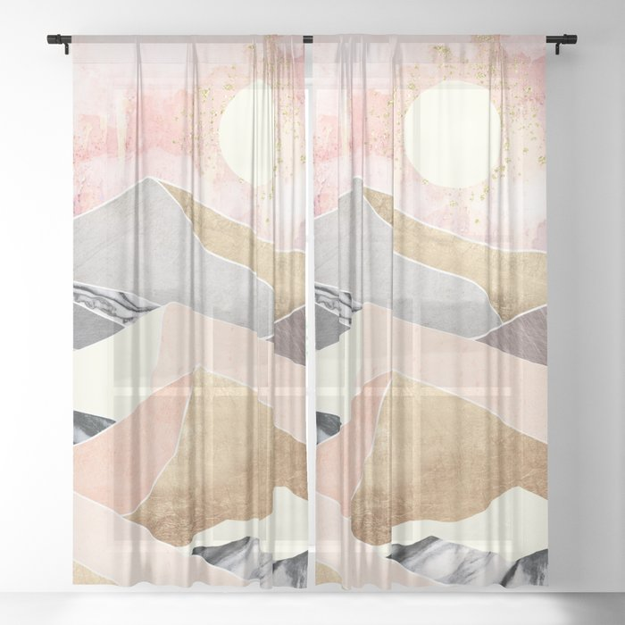 Summer Sun Sheer Curtain