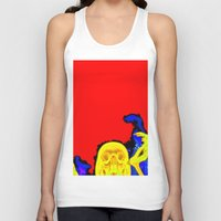 hell Tank Tops featuring Hell by Alec Goss